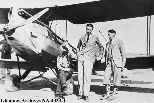 Doctor A.G. Scott, Canada's flying doctor and pilot Sandy Sandgathe